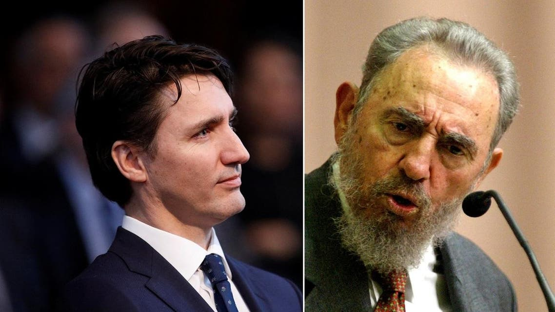 No, Fidel Castro is not Canada PM Trudeau's father (AFP/AP)