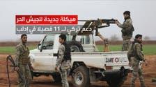 """تركيا تتحدث عن جيش سوري وطني.. 11 فصيلا من """"الحر"""""""