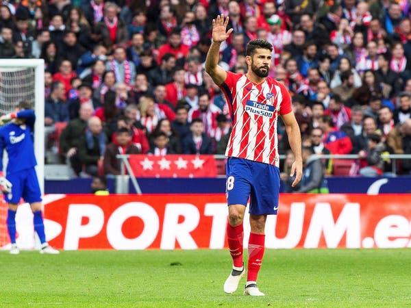 إصابة جديدة تغيّب كوستا عن أتلتيكو مدريد