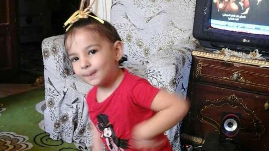 الطفلة المصرية المذبوحة رودينا