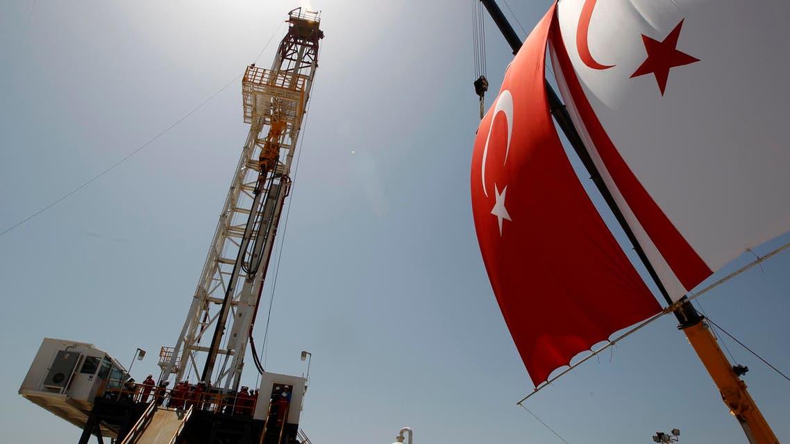 Turkey cyprus oil drilling. (reuters)