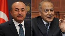 WATCH: War of words heats up between Turkish FM and Arab League chief