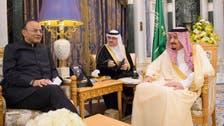 Saudi Arabia's King Salman receives Indian finance minister in Riyadh