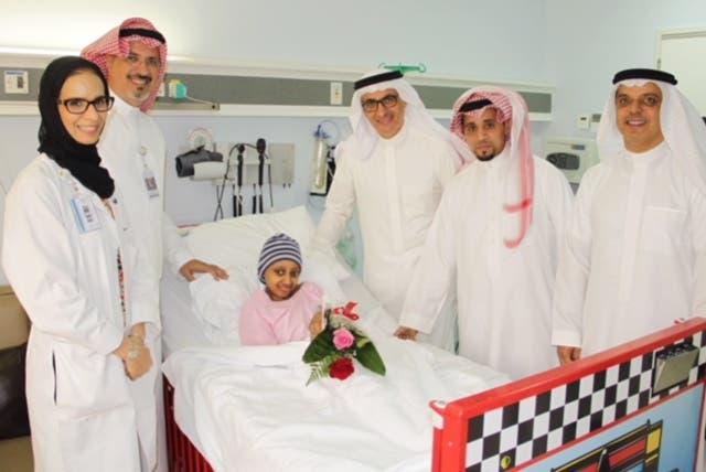 الدكتورة ريم البنيان خلال عملها في المستشفى