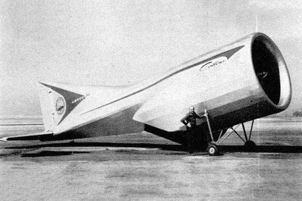 Alexander Lippisch's Aerodyne
