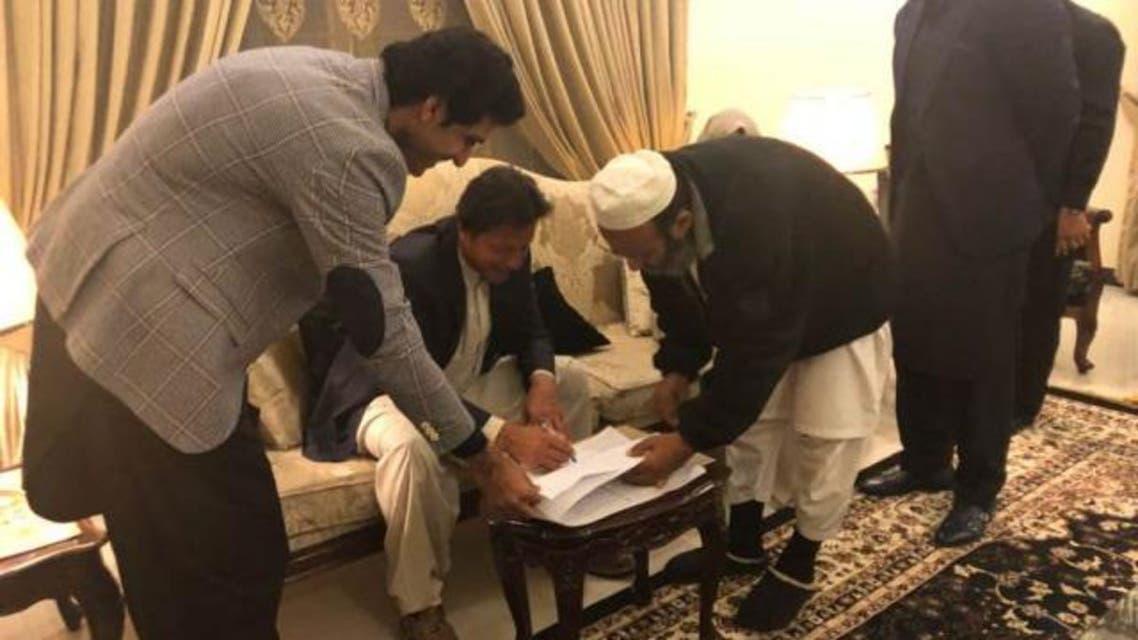 زواج عمران خان  2