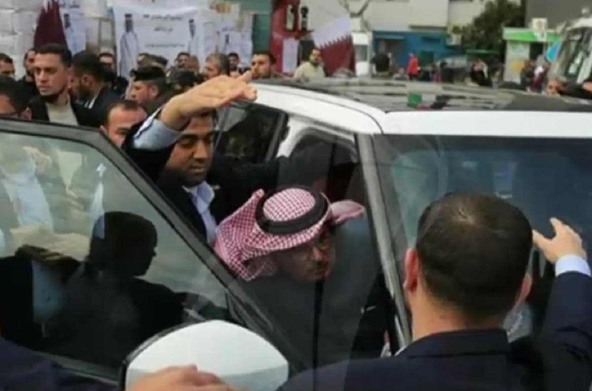 Qatar ambassador gaza