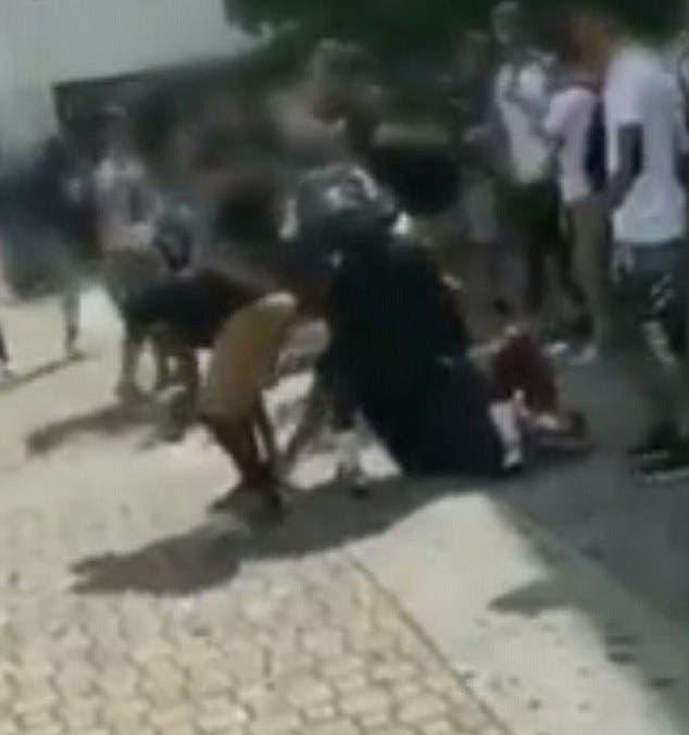 المقطع يظهر السلوك المضطرب للقاتل