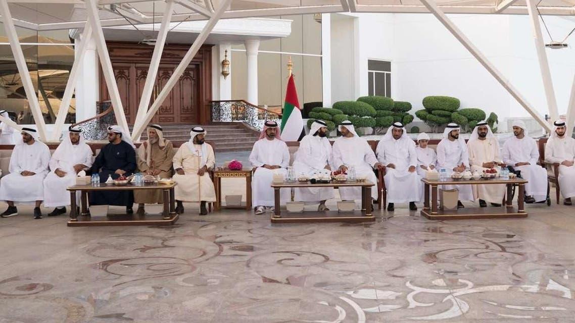 سلطان بن سحيم في الإمارات