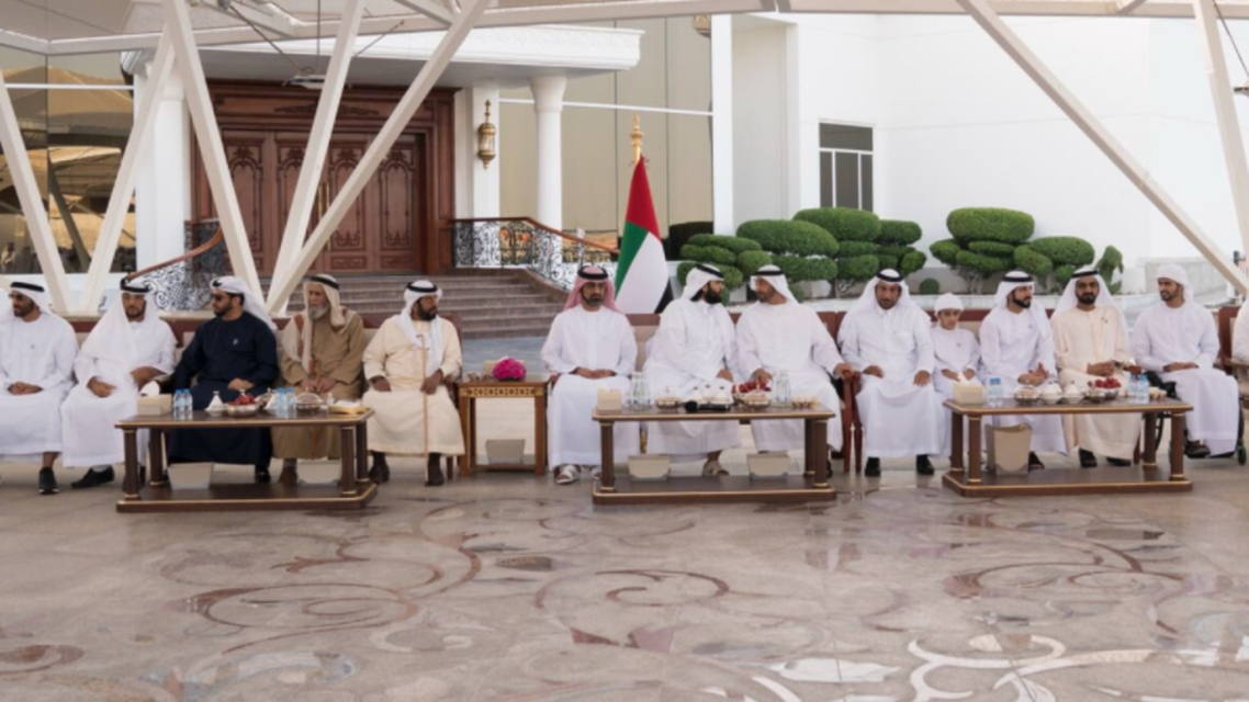 The visiting delegation was hosted at Al Bahr Palace on Monday. (Twitter)