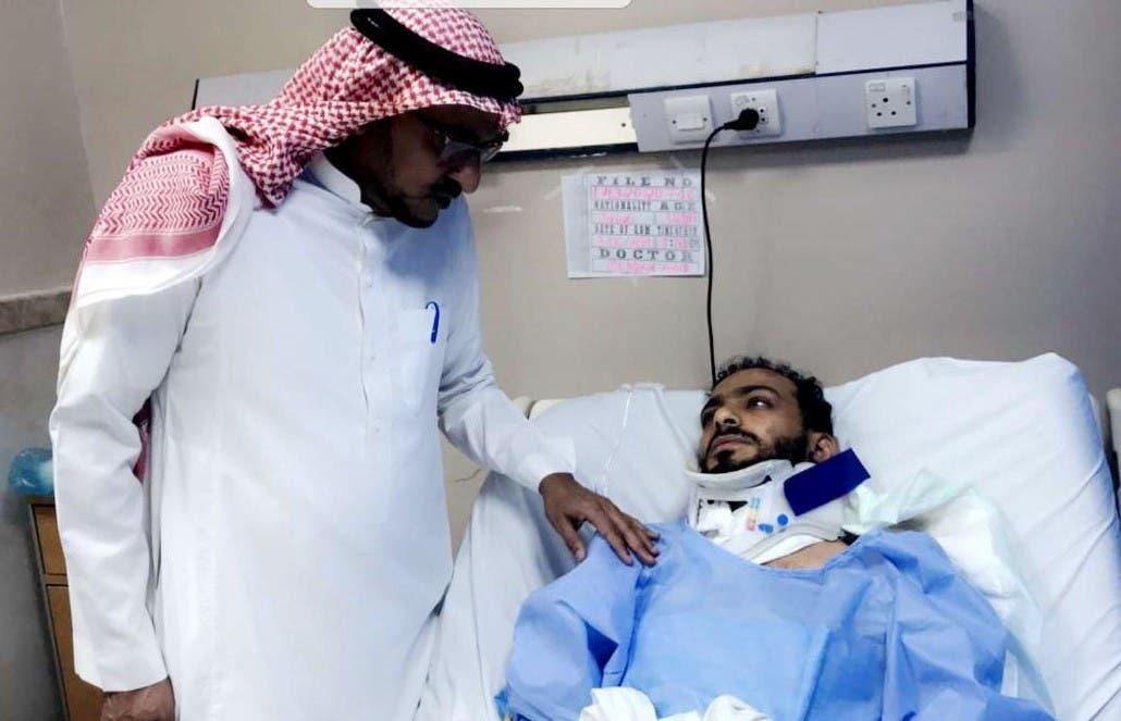 أحد الناجين من حادث الدهس نادي اليرموك