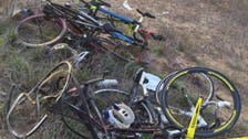 In a horrific accident four members of a Saudi cycling club mowed down by car