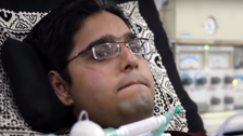 VIDEO: Bed-ridden Pakistani boy runs family food business