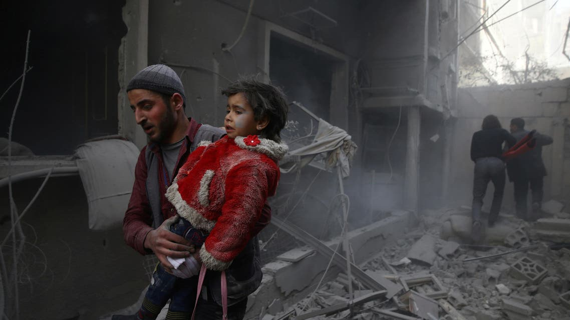 eastern ghouta attacks. (Reuters)