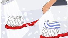 هل نبلل فرشاة الأسنان قبل أم بعد وضع المعجون؟