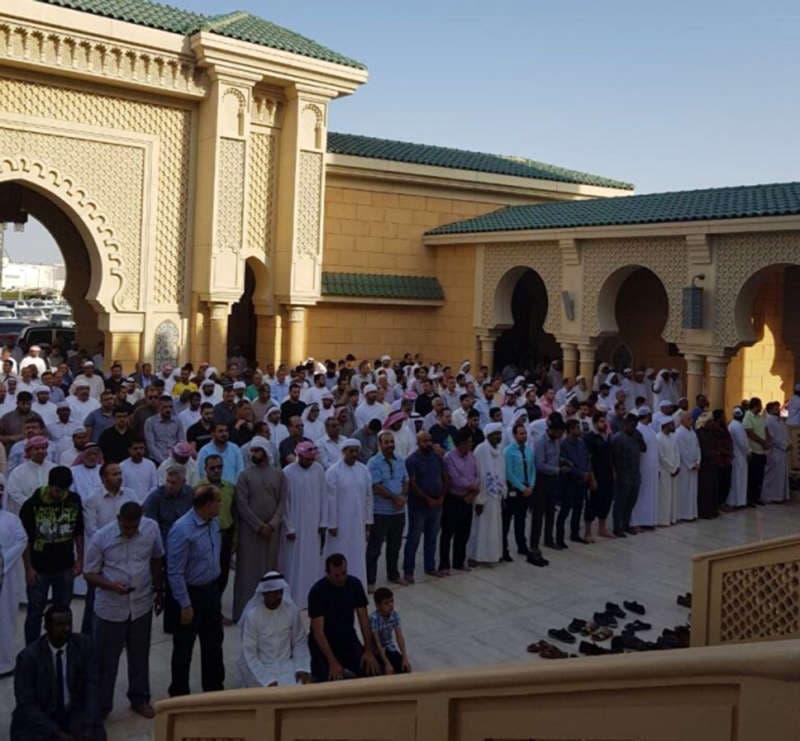 prayers at jordanian girls funeral al ain.