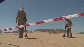 نصف مليون لغم حوثي نزعها الجيش اليمني قرب #صعدة