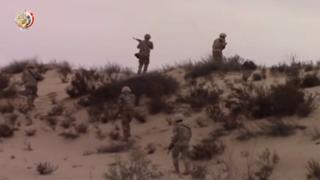 عناصر من الجيش المصري في سيناء 3