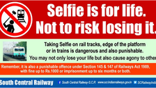 Train-related selfie death toll rising in India despite minister's appeal