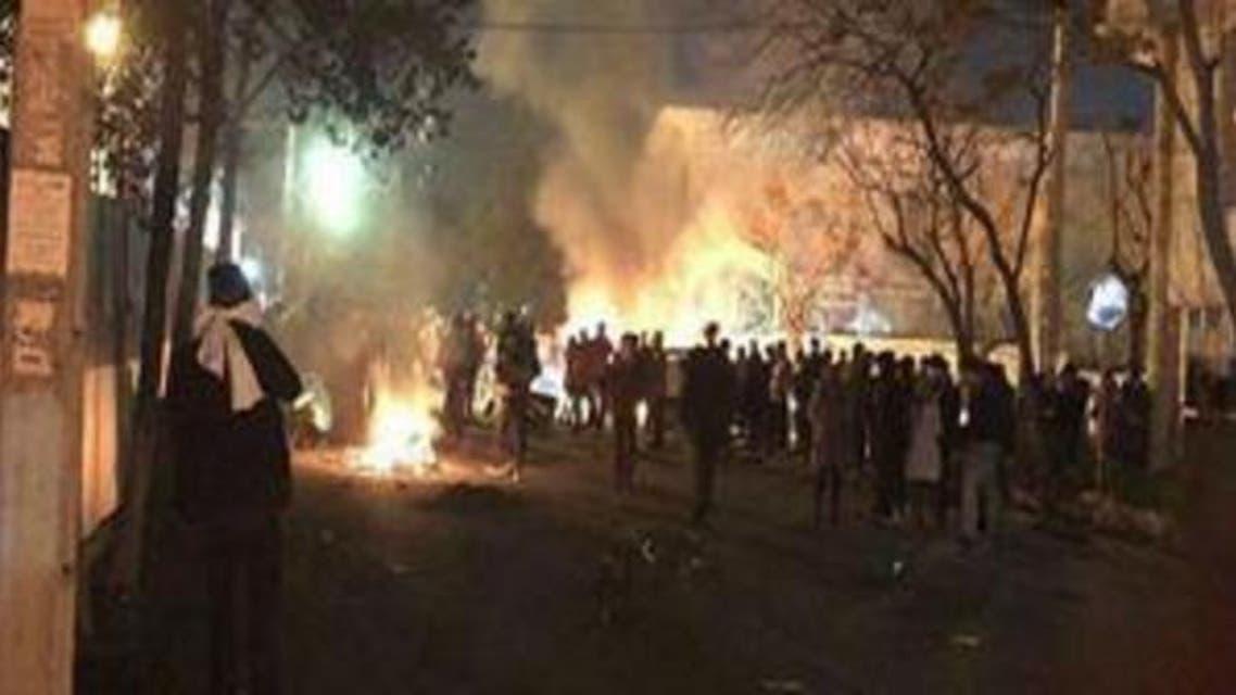 من اشتباكات طهران