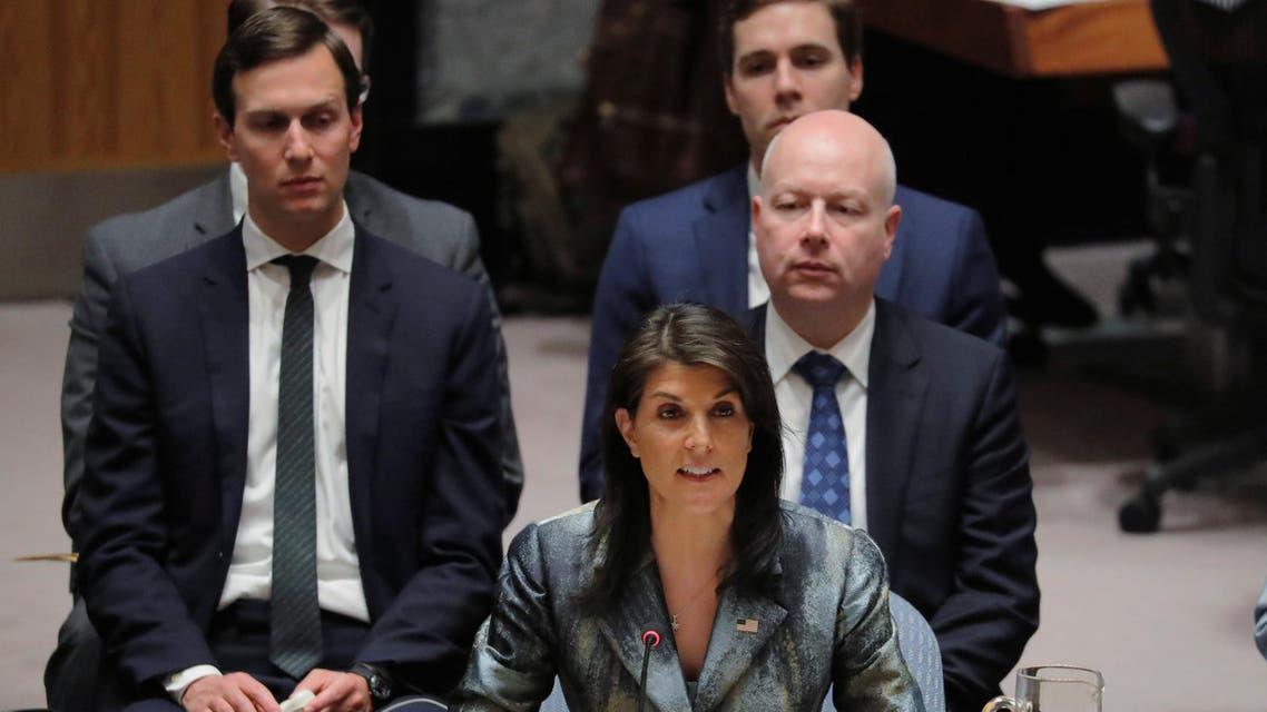 السفيرة الأميركية لدى الأمم المتحدة نيكي هيلي