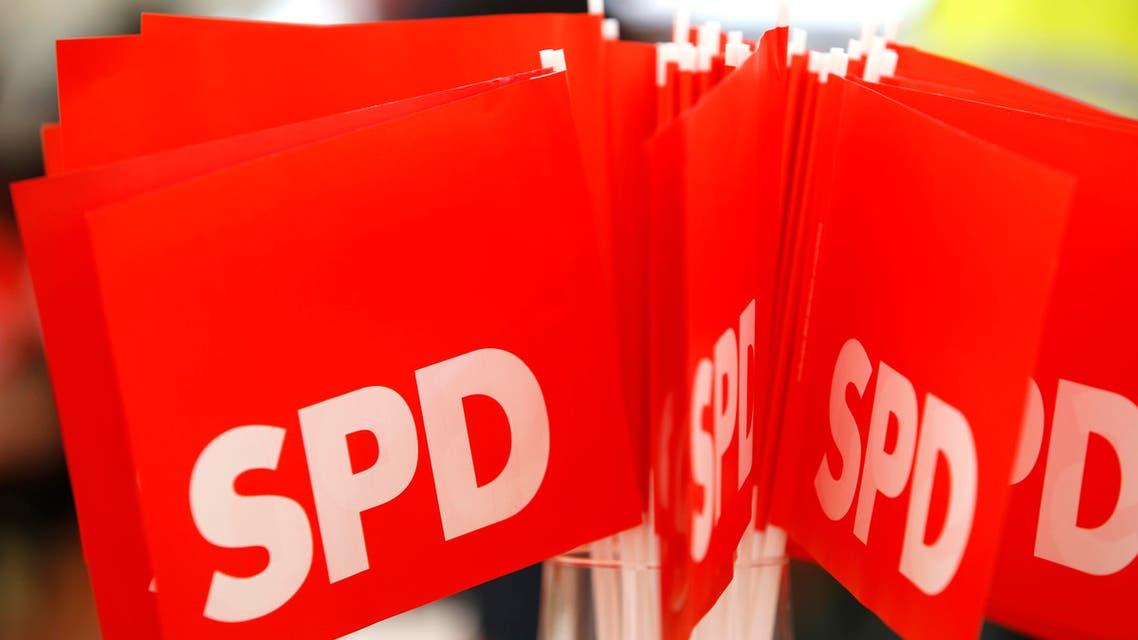 أعلام الحزب الديمقراطي الاشتراكي الألماني في ألمانيا