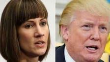 """میں نے اس خاتون کو """"بوسہ"""" نہیں دیا: ٹرمپ کی ٹوئیٹ"""