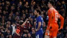 Messi breaks Chelsea duck to earn Barca 1-1 draw