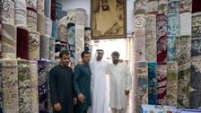 Abu Dhabi Crown Prince visits Afghan man who refuses to sell Sheikh Zayed carpet