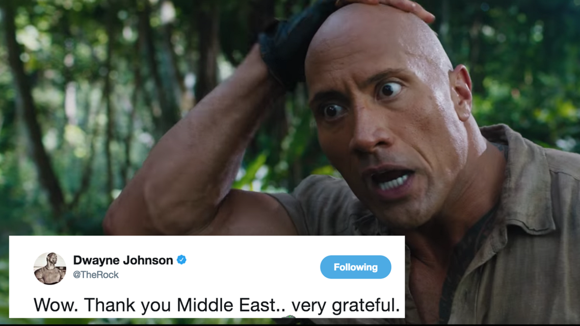 In the entirety of the Middle East plus Egypt, the film currently boasts 2.1 million admissions. (Supplied)