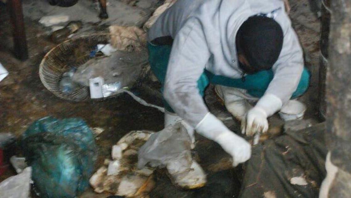 انتشال جثث في الموصل
