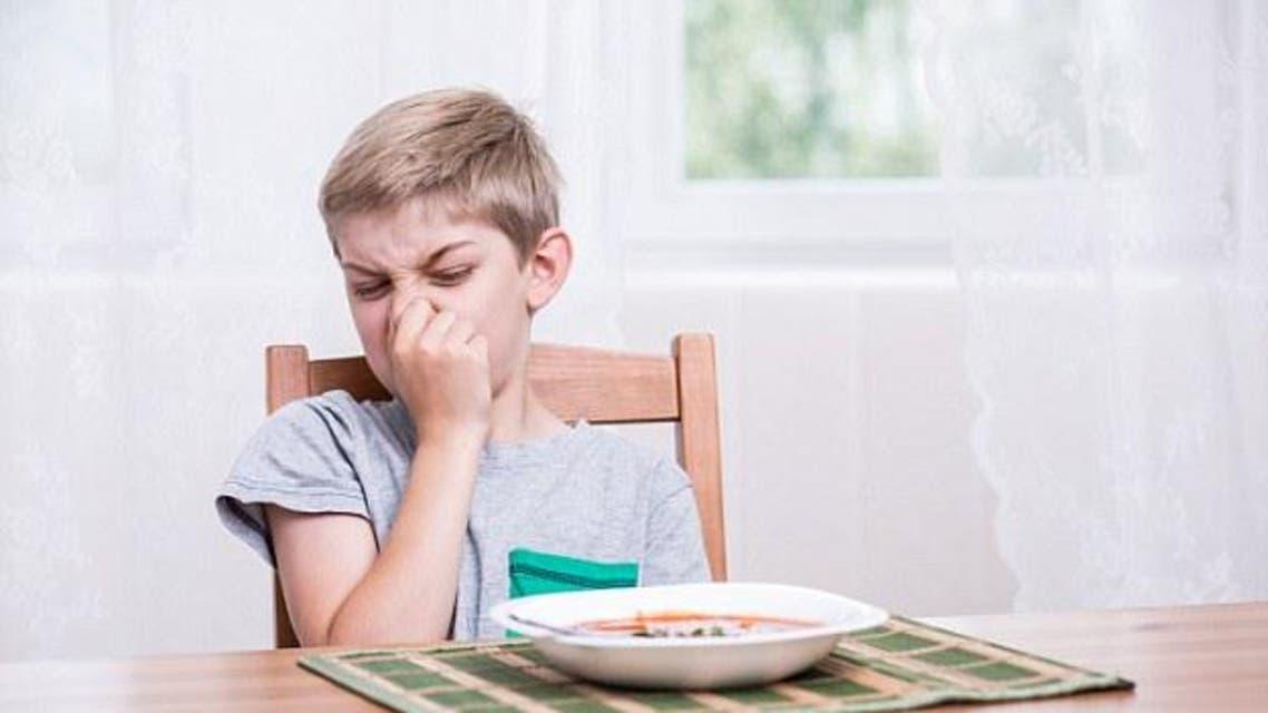الطفل الطعام