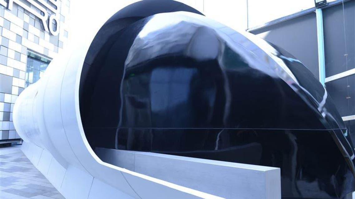 Hyperloop can travel between Dubai and Abu Dhabi in 12 minutes. (Photo courtesy: RTA)