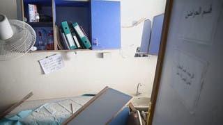 استهداف المستشفيات في حمورية في الغوطة الشرقية