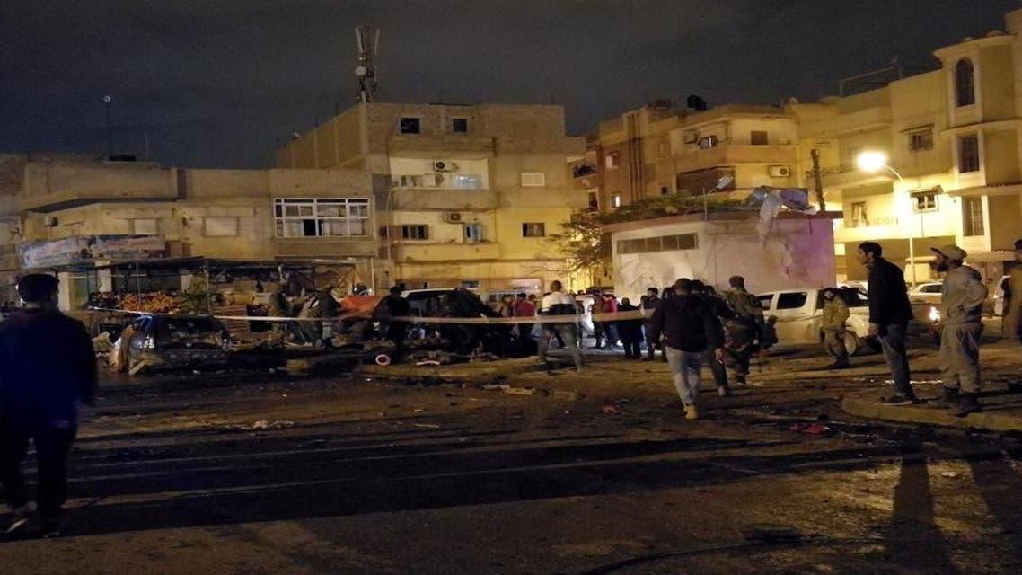 ليبيا تفجير