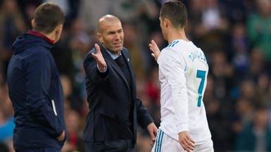 زيدان: أريد البقاء فترة أطول مدرباً لريال مدريد