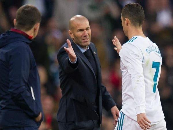 زيدان فخور بلاعبي ريال مدريد بعد تحسن النتائج