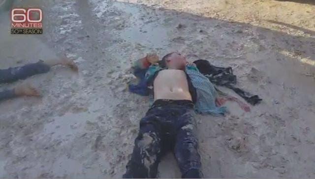طفل من ضحايا القصف