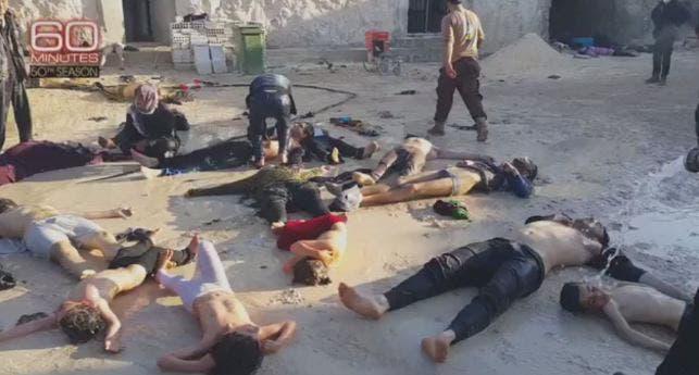 القصف خلف 100 قتيل وحوالي 200 جريح معظمهم من النساء والأطفال