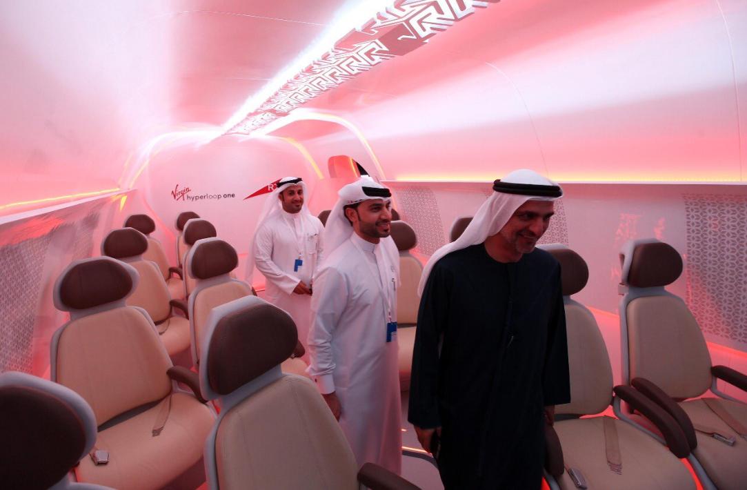 hyperloop dubai. (Dubai Media Office)