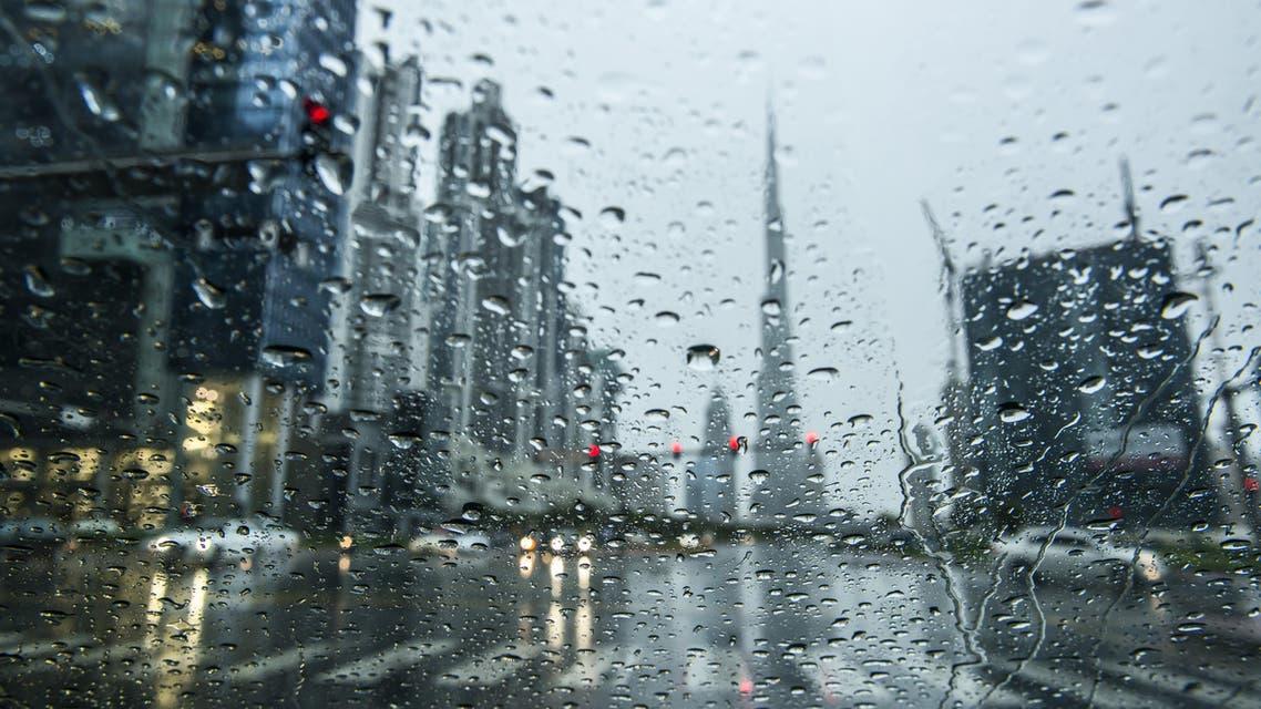 Dubai rain (Shutterstock)