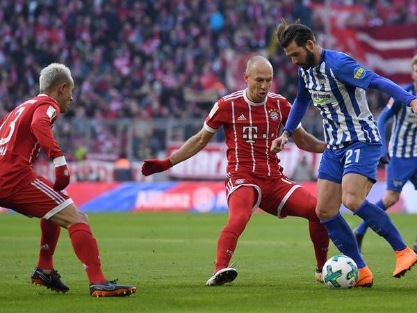 هيرتا برلين يصمد أمام هجوم بايرن ويجبره على التعادل