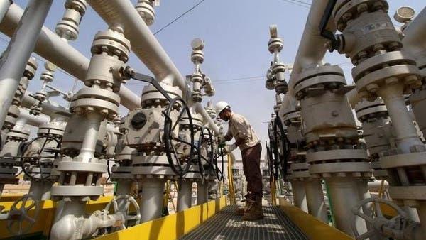 أسعار النفط تستقر متخلية عن مكاسبها وبرنت عند57.6 دولار
