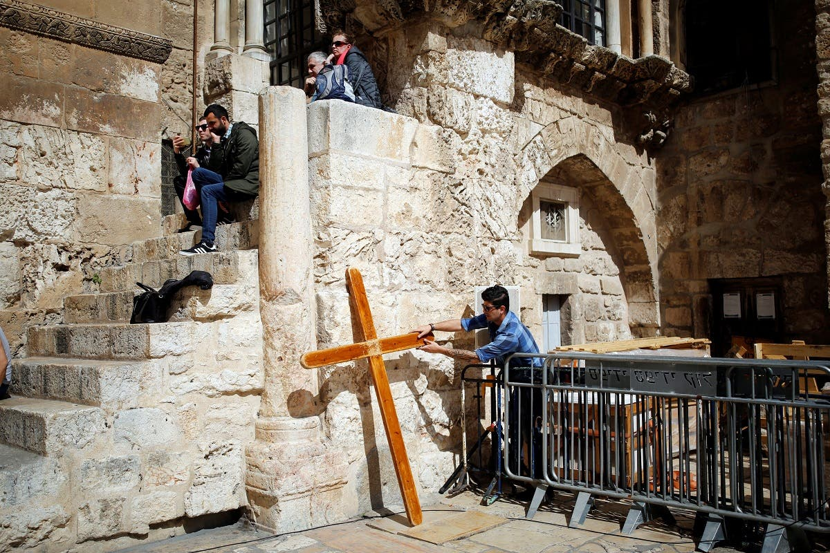 Inside Jerusalem's Church of the Holy Sepulchre