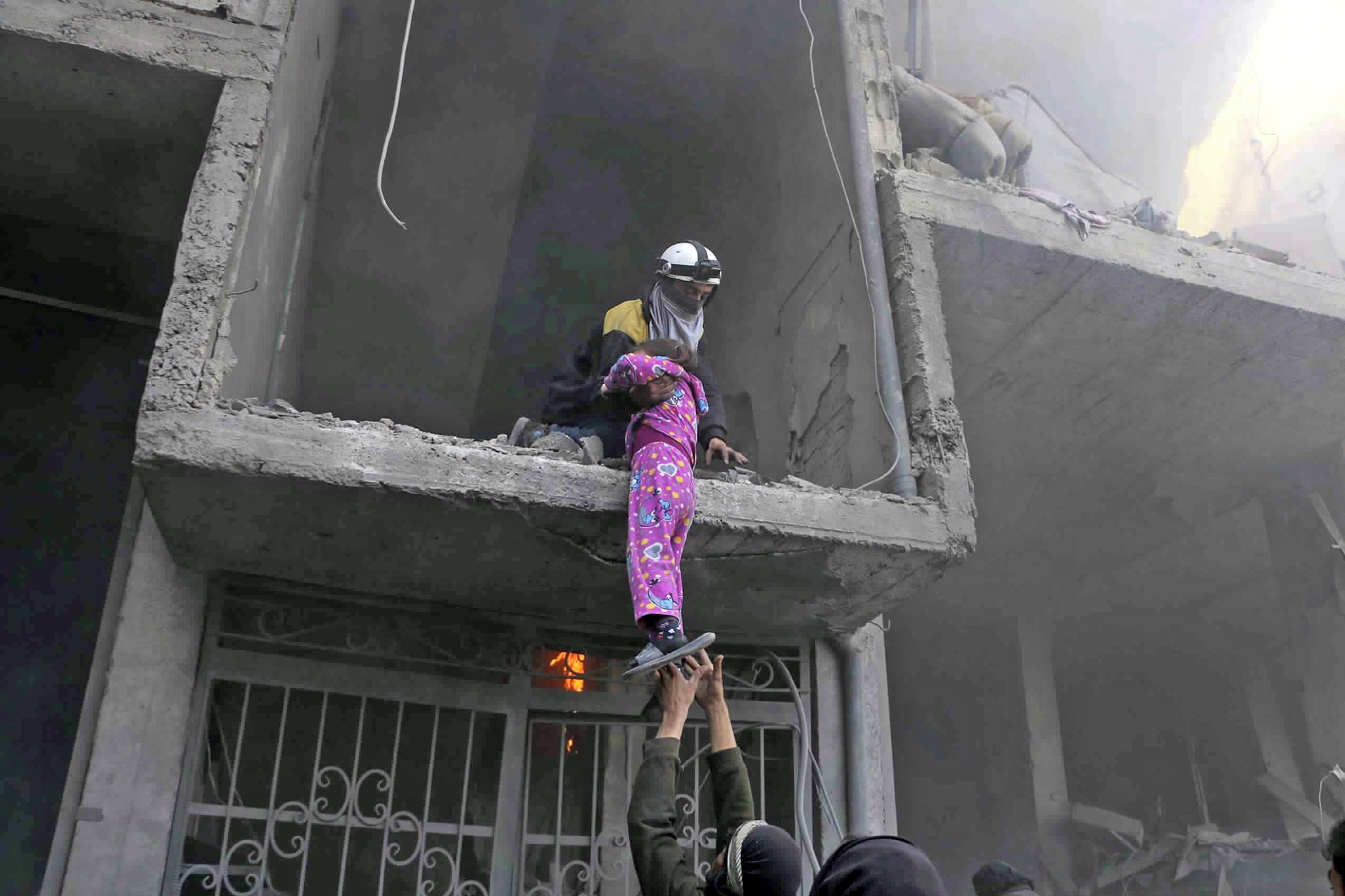 Eastern Ghouta. (Reuters)
