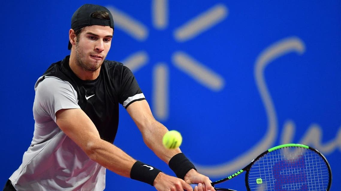 Karen Khachanov AFP