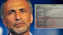 Rape-accused Tariq Ramadan's flight itinerary surfaces, contradicting his alibi