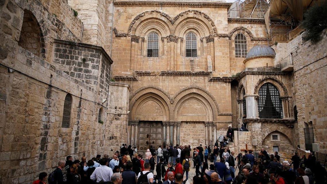 Inside Jerusalem's Church of the Holy Sepulchre