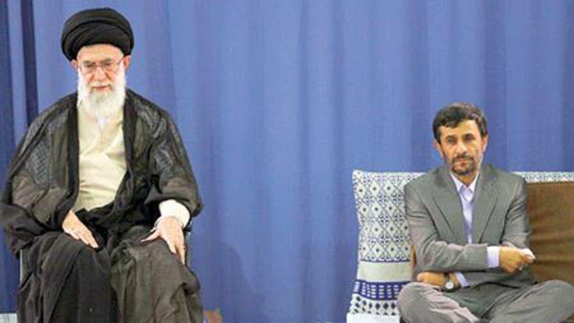 أحمدي نجاد و خامنئي