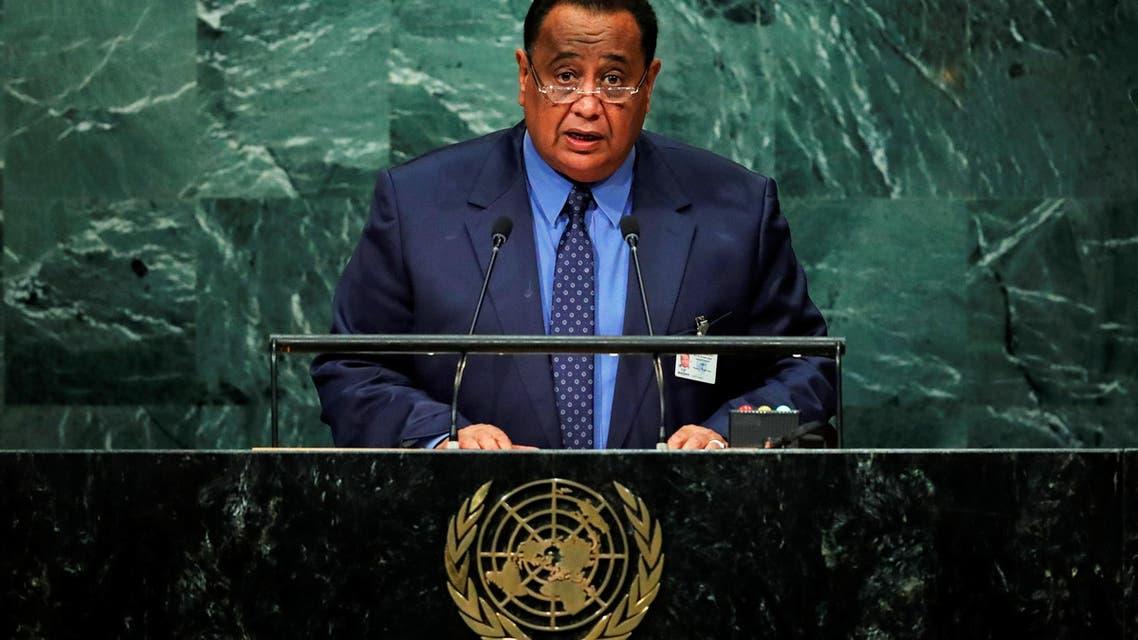 Ibrahim Ghandour Sudan foreign minister. (Reuters)